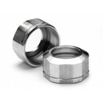 HPI Shock Cap 12x0.8mm Silver/Grooved 72100