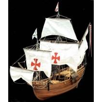 Mantua Models Pinta Caravella of Columbus 1/50 (755)