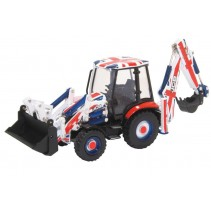 Oxford Diecast JCB 3CX Eco Backhoe Union Jack 1:76
