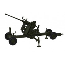 Olive Drab 40MM Bofors Gun Diecast1:76