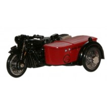 Royal Mail BSA Motorcycle & Sidecar 1:76 Diecast