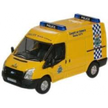 Merseyside Police Mobile Camera Ford Oxford Diecast