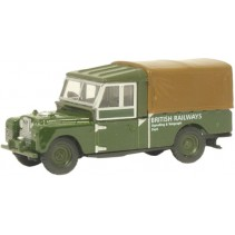 British Railways Land Rover 109 Canvas 1:76 Diecast