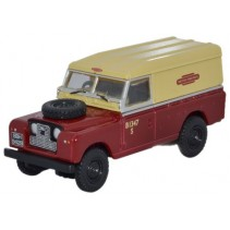 British Rail Land Rover Series II 1:76 Diecast