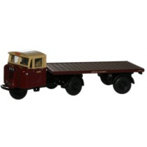 British Rail Mechanical Horse Flatbed Trailer Scale 1/76 Diecast