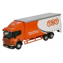 Scania 94 6 Wheel Curtainside TNT Diecast1:76