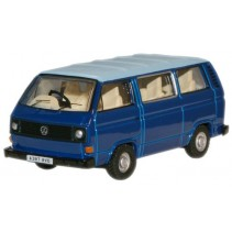 Cornat Blue/Guinea Blue VW T25 Bus 1:76 Diecast