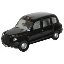 Black TX Taxi Diecast 1:76