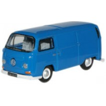 Regatta Blue VW Van 1:76 Diecast