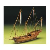 Mantua Model French Xebec Model Boat Kit - 1/49 (795)