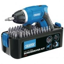 Draper Screwdriver Kit Cordless 3.6V 83568