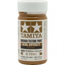 Tamiya Texture Paint Brown 87108