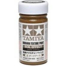 Tamiya Texture Paint Soil Dark Earth 87109