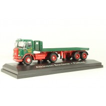 ATLAS EDITIONS 9103 1/76 Atkinson Borderer with flatbed trailer Stobart Diecast