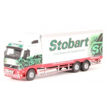 ATLAS EDITIONS 9105 1/76 Volvo FH12 Box Van Stobart Diecast