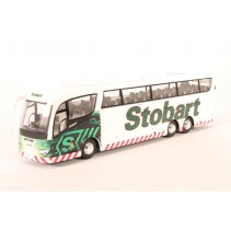 ATLAS EDITIONS 9114 1/76 Scania Irizar PB Executive Coach Stobart Diecast