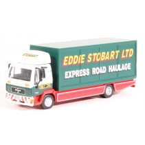 ATLAS EDITIONS 9118 1/76 MAN L2000 Box Van Stobart Diecast