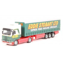ATLAS EDITIONS 9119 1/76 Scania R143M 420 Curtainside Stobart Diecast