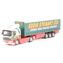 ATLAS EDITIONS 9124 1/76 Leyland DAF FT85CF Curtainside Stobart Diecast