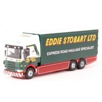 ATLAS EDITIONS 9128 1/76 Scania 94D Box Van Stobart Die Cast