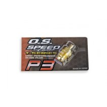 O.S. Engines Glowplug Speed P3 Gold T-Series L-OS71642720