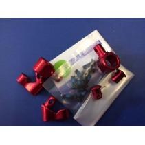 SEM1671RE Roll Bar Stopper Set (Red Aluminium) 9923925