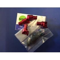 SEM1674RE Roll Bar Mount Set (Red Aluminium) 9923931
