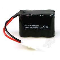 Haiboxing E040 Battery Pack 7.2V 1500mAh Nimh 9943310