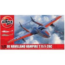 Airfix A02058 De Havilland Vampire T.11 1/72
