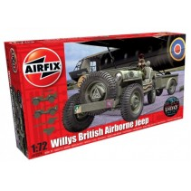 Airfix British Airborne Willys Jeep 1:72 A02339