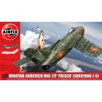 1/72 MIG 17F FRESCO MIKOYAN-GUREVICH SHENYANG J-5 A03091