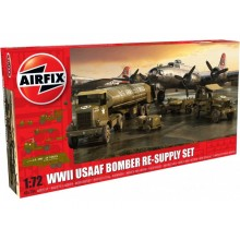 Airfix WWII USAFF Bomber Re-Supply Set 06304
