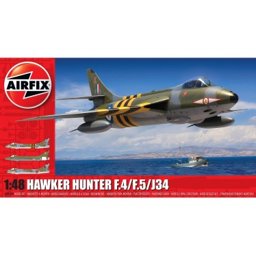 Airfix Hawker Hunter F.4/F.5/J34 A09189