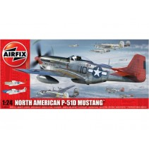 Airfix North American P51-D Mustang 1:24 A14001A