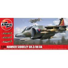 Airfix Hawker Siddeley GR.3 /AV.8A 1:24 A18003