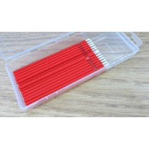 A45812 - 20 Piece Dispenser Box Medium Red Bendable Brush Applicator