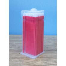 Dispenser Box of 100 Fine Micro Bendable Applicators A45822