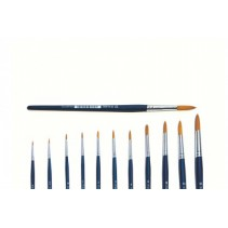 Italeri 3/0 Round Brush Synthetic with Brown Tip A51283