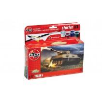 AIRFIX TIGER I 1/72 NEW STARTER SET A55004