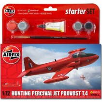 Airfix Hunting Percival Jet Provost T.4 Starter Kit 1/72 A55116