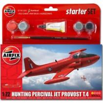 Airfix Hunting Percival Jet Provost T.4 Starter Kit 1/72 A55116