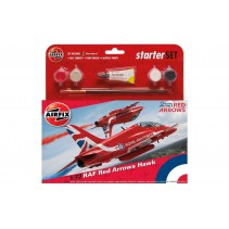 AIRFIX RAF RED ARROWS HAWK  1/72 STARTER SET  A55202C
