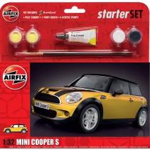 AIRFIX MINI COOPER S 1/32 STARTER SET A55310