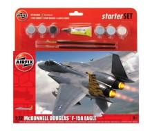 AIRFIX 1/72 MCDONNELL DOUGLASS F-15A STARTER SET EAGLE A55311