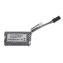 Absima 7.4V 500mAh Li-Ion Battery AB30-DJ02