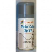 Humbrol 150 Spray Paint 27003 Polished Steel Metalcote