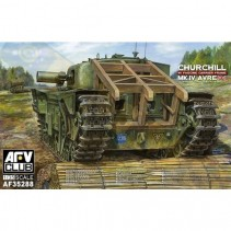 AFC Club AF35288 Churchill IV AVRE w/ Fascine Carrier Frame 1/35
