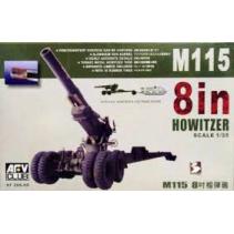 AFV Club AF35S-06 M115-8 Howitzer 1/35