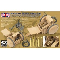 AFV Club AF35Z64 WWII British Rota Trailer with 2 Pounder Ammunition 1/35