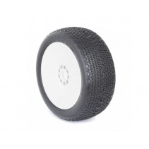Kyosho 1:8 Buggy Tyres on EVO Rims Typo Clay (2) AKA14015CRW